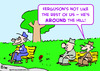 Cartoon: old retired over around hill (small) by rmay tagged old,retired,over,around,hill