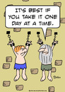 Cartoon: one day at a time prisoners (small) by rmay tagged one,day,at,time,prisoners