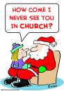Cartoon: santa claus church (small) by rmay tagged santa,claus,church