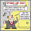 Cartoon: SUG are stupid IQ liberals (small) by rmay tagged sug,are,stupid,iq,liberals