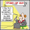 Cartoon: sug obama respect (small) by rmay tagged sug,obama,respect